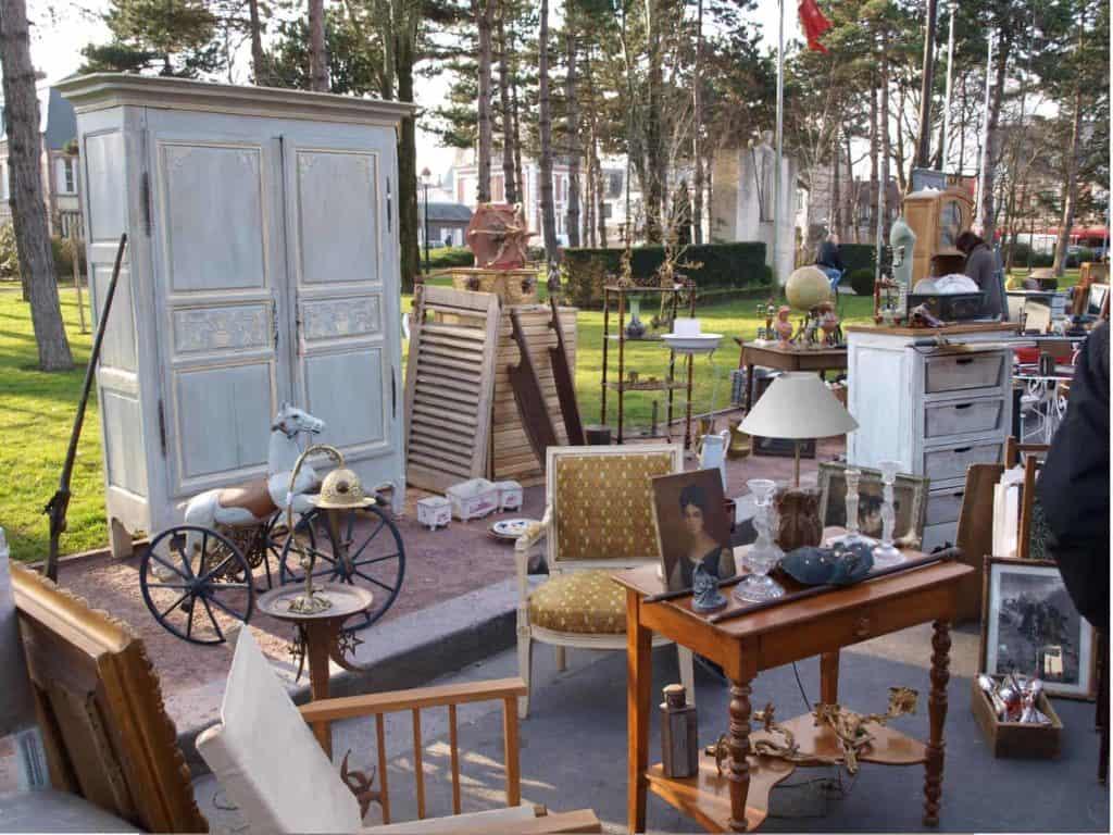 Vente de meubles partage héritage