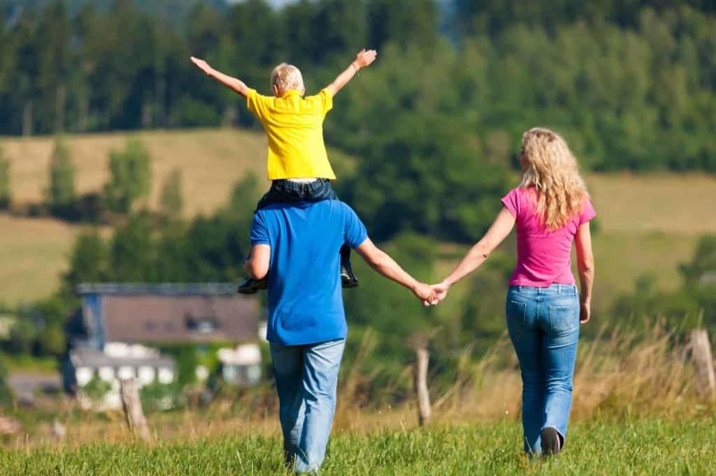 Famille economise assurance sur prêt gigogne